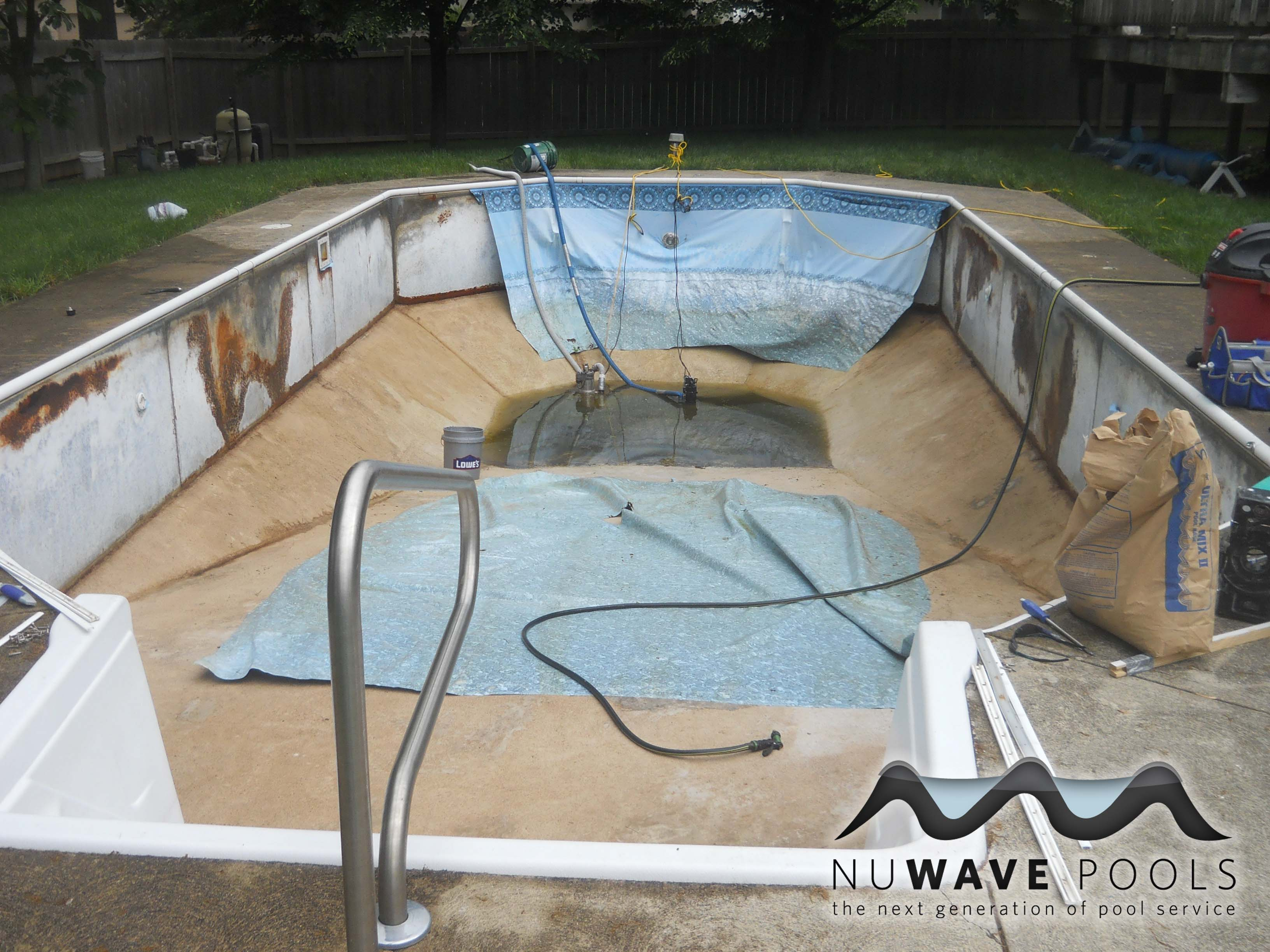 Kettering Ohio 45409 Pool Vinyl Liner Replacement
